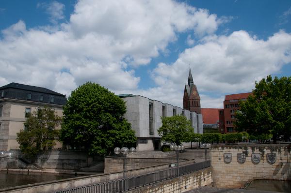 hannover with parliament und market church