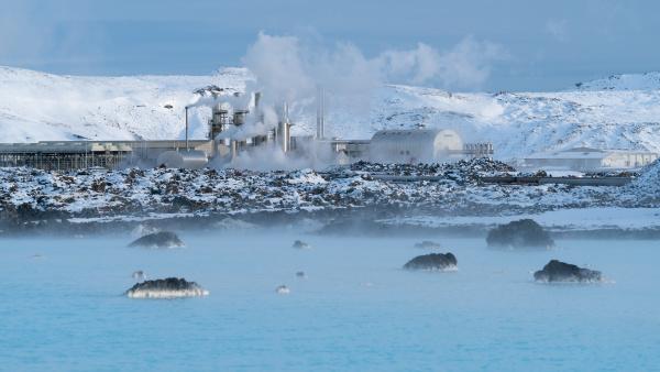 geothermal power plant of grindavik