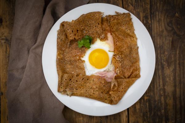 galette complete breton buckwheat pancake with