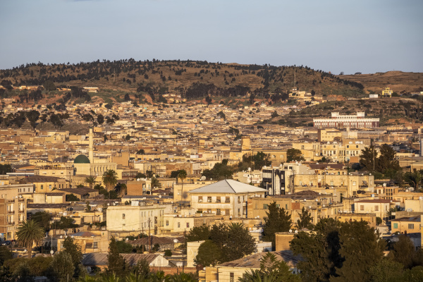 view of the city of asmara