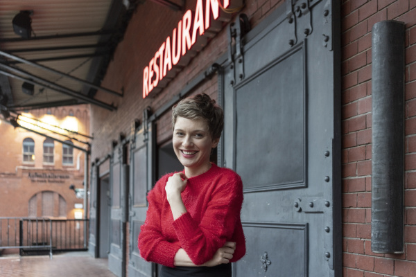germany berlin portrait of smiling restaurant