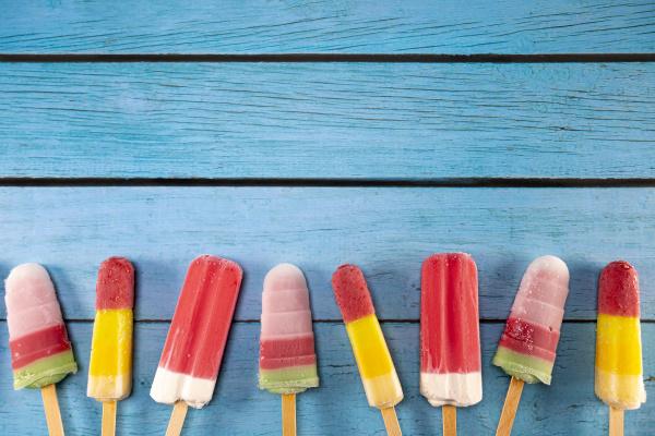 ice cream stick placed on a