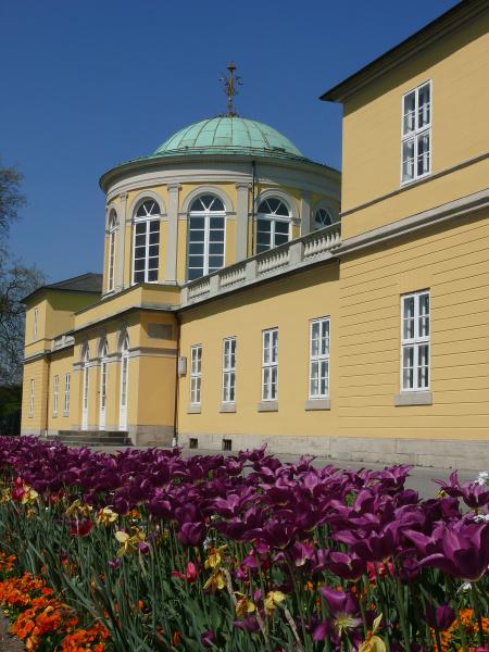 berggarten pavililion of the royal gardens