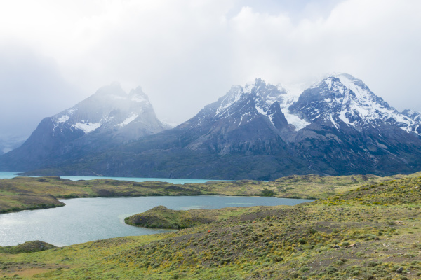 chilean patagonia landscape torres del paine