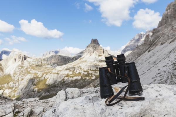 binoculars mitterebenkofel gruppo rondoi baranci tre