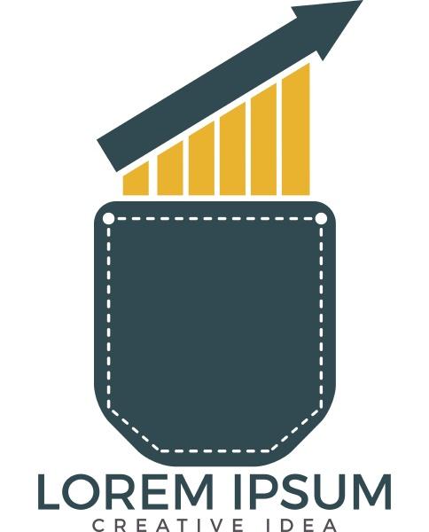 pocket trader logo design