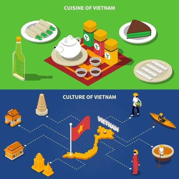 vietnam cuisine culture and touristic places