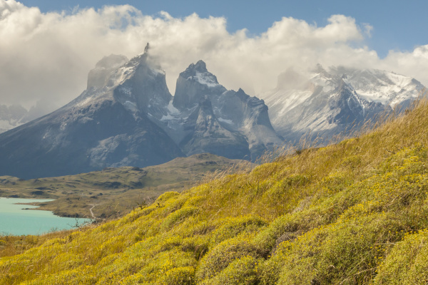 chile patagonia lake pehoe and the