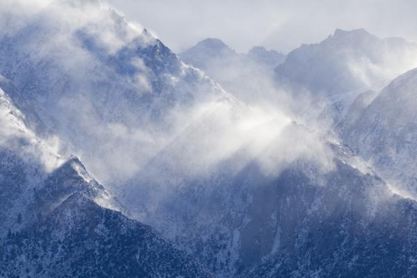 usa california lone pine view of