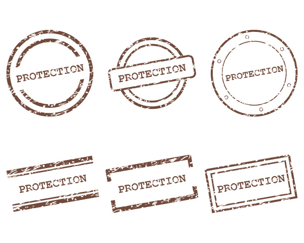 protection stamps