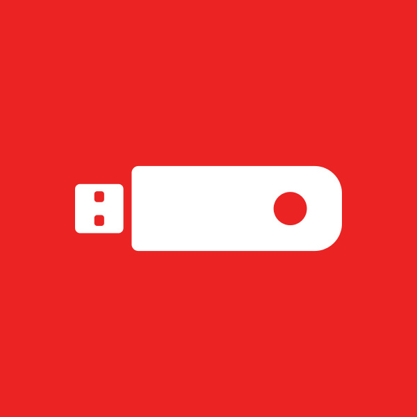 usb stick and background