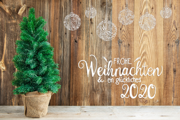 christmas ornament tree calligraphy frohe weihnachten