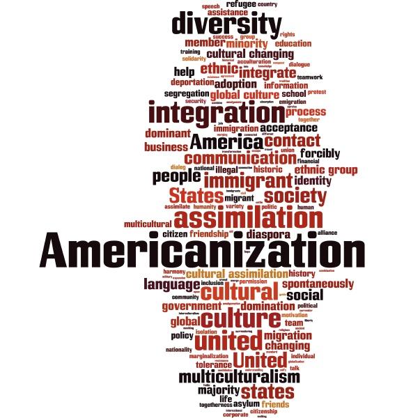 americanization word cloud