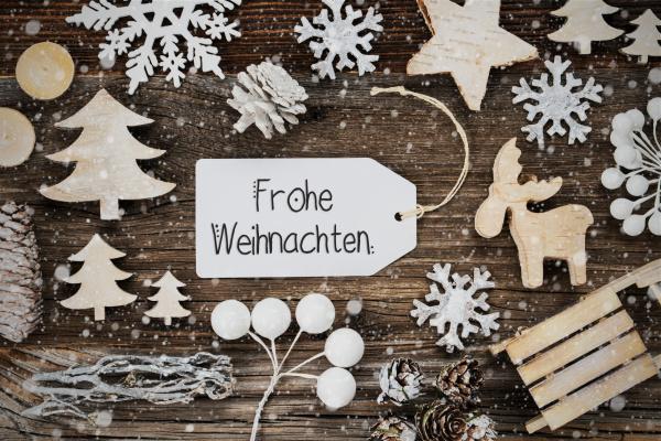 label frame frohe weihnachten