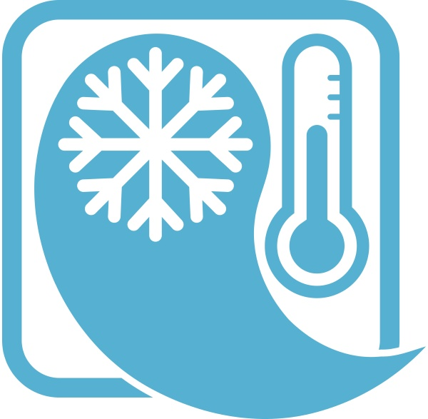 drop snowflake thermometer