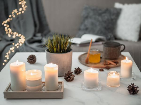 hygge lagom cozy home concept