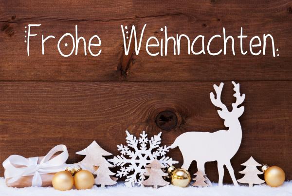 reindeer gift tree
