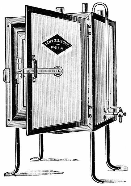 small incubator sufficiently large for individual