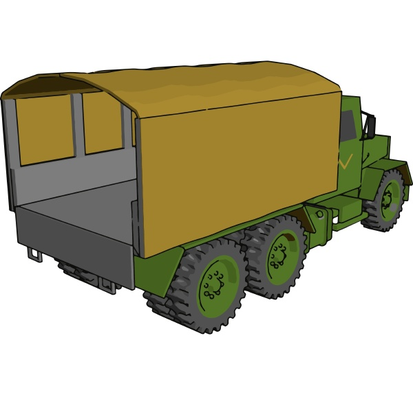 military vehicle picture vector or color
