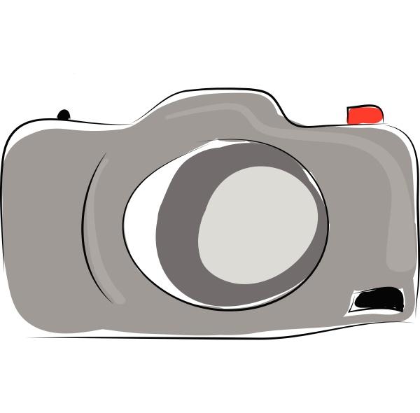 modern camera vector illustration