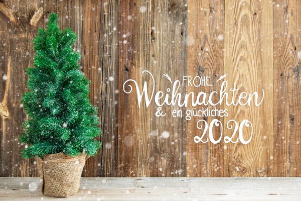 wooden background tree frohe weihnachten means