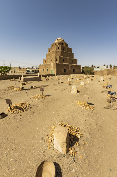 muslim cemetery and mausoleum of a