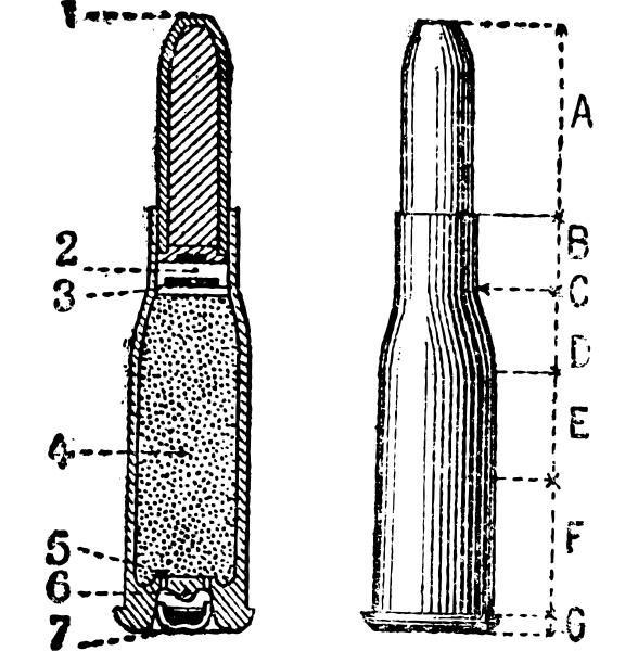cut profile repeating firearm