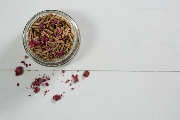 cereal bran stick in glass jar