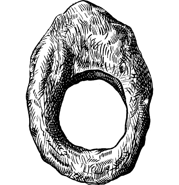 finger ring of roman period vintage