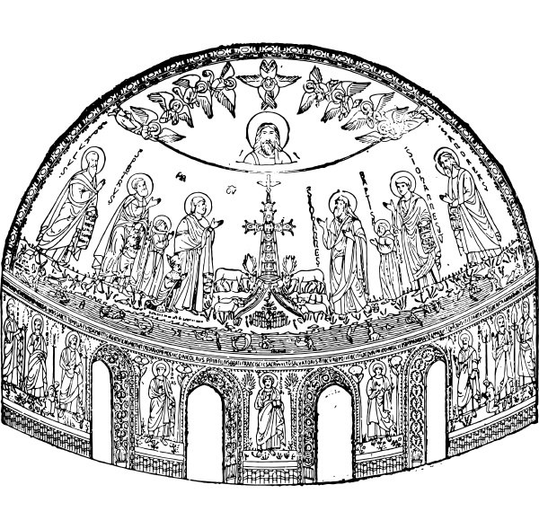 apse of the basilica of st