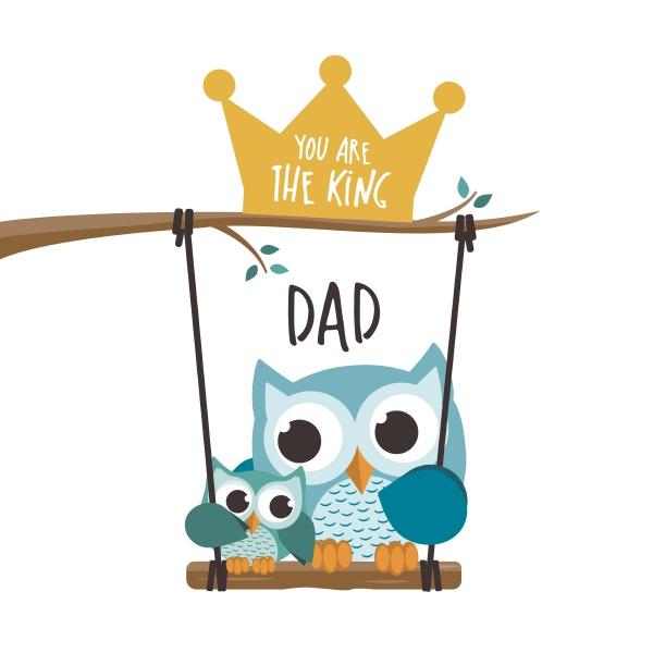 fathers day owls in love in