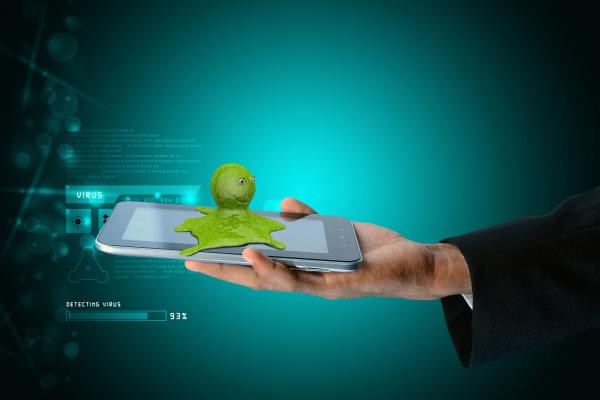 smart hand showing octopus in smart