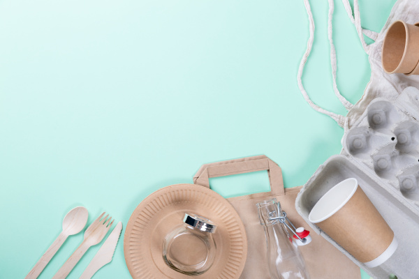 sustainable eco friendly concept kitchenware