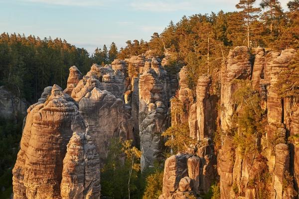 majestic rocky landscape