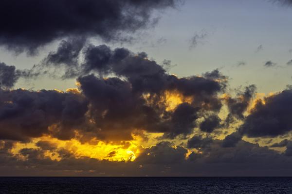 sunrise over atlantic ocean lanzarote