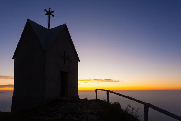 dawn at the little church mount