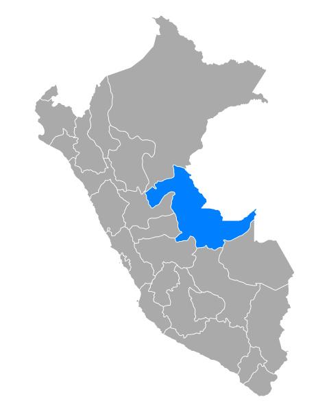 map of ucayali in peru