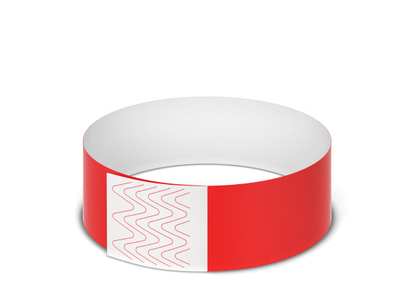 blank paper event bracelet