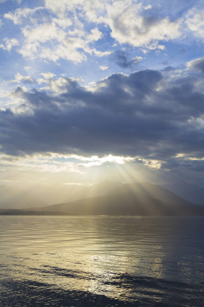 usa washington state seabeck god rays