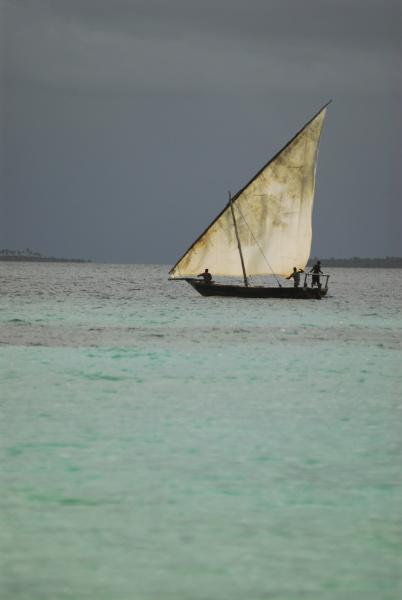 tanzania zanzibar nungwi traditional sailing boat