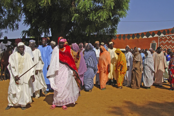 cameroon pouss colourful gathering of african