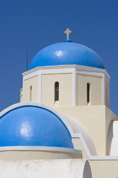 greece santorini thira oia blue greek