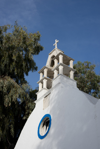 greece cyclades mykonos hora typical whitewashed