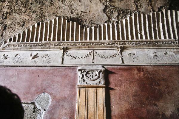 italy pompeii ruins at