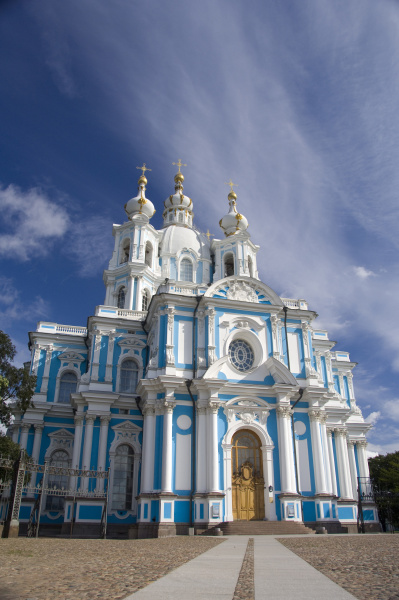 russia st petersburg nevsky prospect smolny