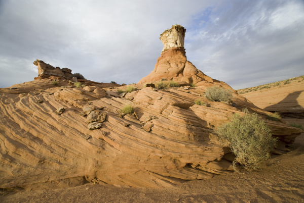 thumb rock near page navajo reservation