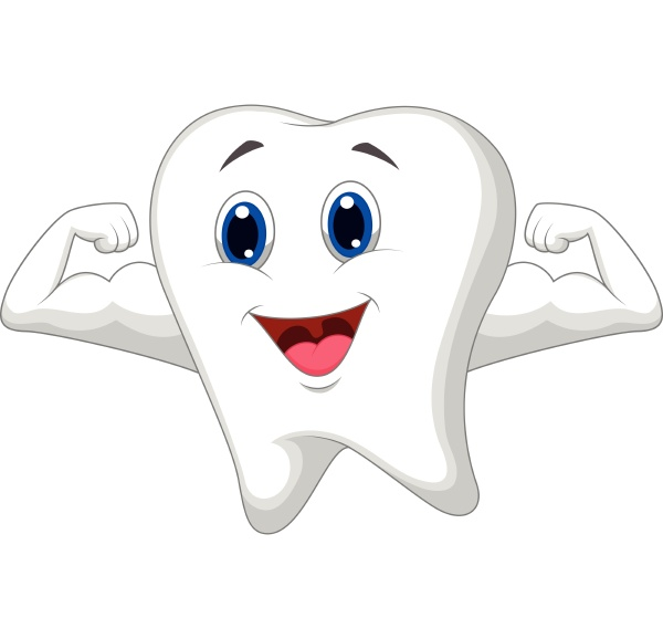 strong tooth character