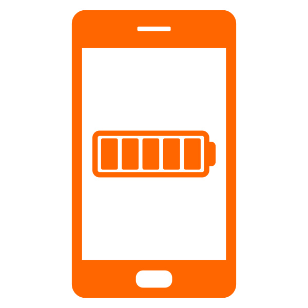 battery and smartphone