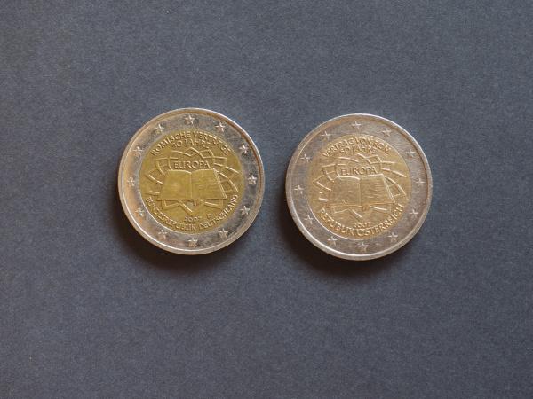 roman treaty german and austrian euro