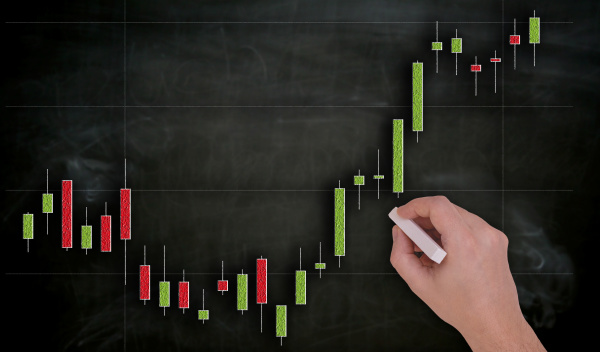chart is painted by hand with